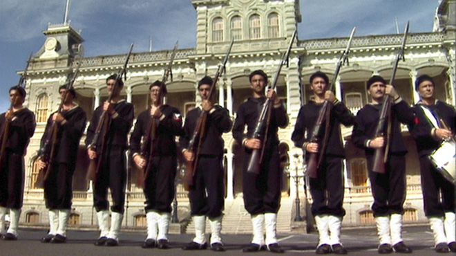 Still from &lt;i&gt;Act of War: The Overthrow of the Hawaiian Nation&lt;/i&gt;