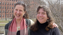 Producer/Director Michal Goldman and Co-producer Ellen Brodsky