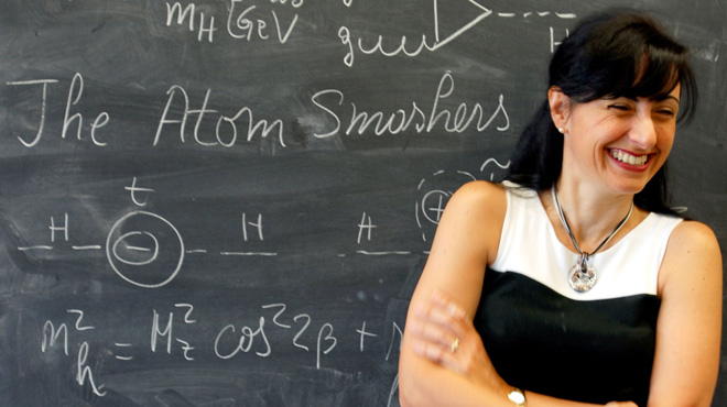 Dr. Marcela Carena, experimental physicist