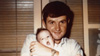Don Droz holding his daughter Tracy, two weeks before his death in Vietnam