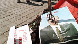 "Alexander Pushkin's ""A Wheelbarrow of Dung for President Lukashenko"" 1999."