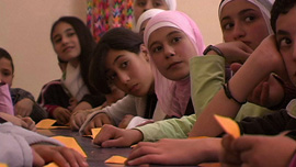 Educator Miri Golan uses origami to teach math to kids throughout Israel