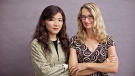 Producers Mei-Juin Chen and Martha Burr
