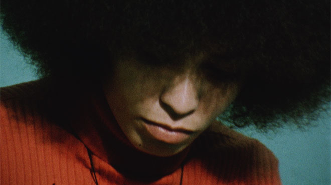 Angela Davis at the San Rafael County Prison, 1972