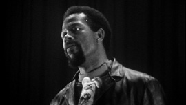 Eldridge Cleaver in San Francisco, 1968