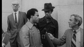 Huey P. Newton in San Francisco,1971