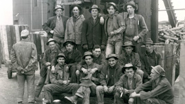 Miners from Butte, Montana, 1915