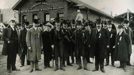 Butte mining officials, circa 1900