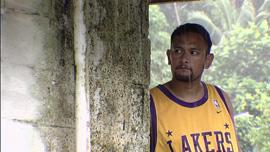 Rob Pene at home in American Samoa