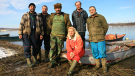 The last sturgeon fishermen of Serbia