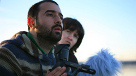 Dragan and Director/Producer Jovana Nikolic