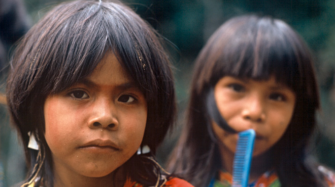 Still from <i>Children of the Amazon</i>