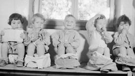 Babies sitting