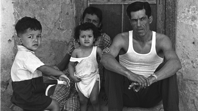 Mexican American family (1949)