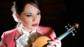 Luisa Fregoso of Mariachi Reyna de Los Angeles