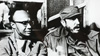 Fidel Castro with Amilcar Cabral during the tri-continental conference