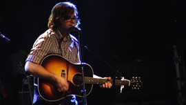 Death Cab for Cutie's Ben Gibbard performs at a benefit concert for Pat Spurgeon