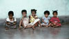 HIV positive children at the Maiti Nepal Hospice whose mothers had been trafficked