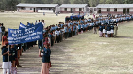 Maiti Nepal awareness campaign