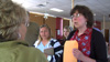 Beverly May meets with Mud Creek residents.