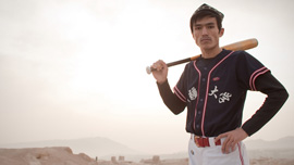 Xinjiang University baseball captain Parhat Ablat