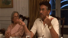 Dinner with Pervez Musharraf, former president of Pakistan