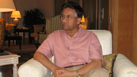 Pervez Musharraf, President of Pakistan