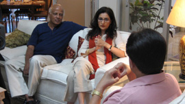 Sachithanandam Sathananthan and Sabiha Sumar interview President Musharraf