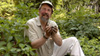 Author and urban arborist Bill Logan with New York dirt
