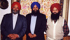 Balbir Singh Sodhi, Harjit Singh Sodhi and Rana Singh Sodhi
