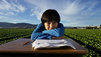 The young son of migrant farm workers dreams of a life beyond the fields and dangerous streets of Salinas, CA