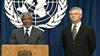 Kofi Annan and Sergio Vieira de Mello