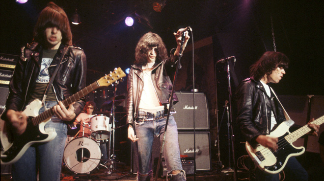 The Ramones live at CBGB (1976)