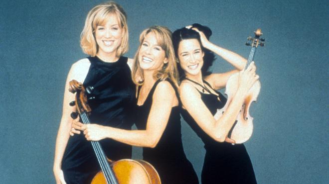 Eroica Trio: Erika Nickrenz, Sara Sant'Ambrogio and Adela Peña