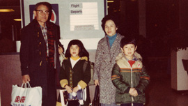 Paul, Anna, Joseph and Theresa Loong, 1981