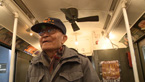 Paul Loong takes a trip into yesteryear on a vintage NYC subway car.