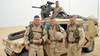 Jeffrey Kaylor with fellow soldiers in Iraq