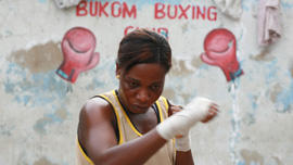 Yarkor 'Chavez' Annan (Ghanian boxer and key contributor in The Fighting Spirit).