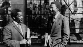 Oliver Tambo and Nelson Mandela, 1962