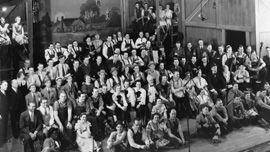 National Barn Dance cast, circa 1936