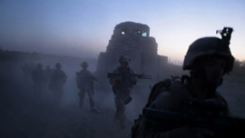Marines of Echo Company 2nd Battalion, 8th Marine Regiment