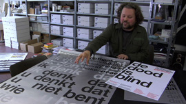 Manfred Schulz' letterpress in Frankfurt