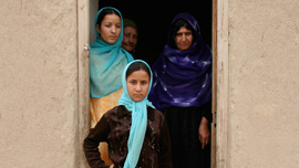 Sabereh, Farzaneh, her mother and grandmother
