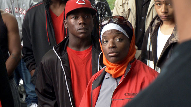 Still from <i>The Interrupters</i>