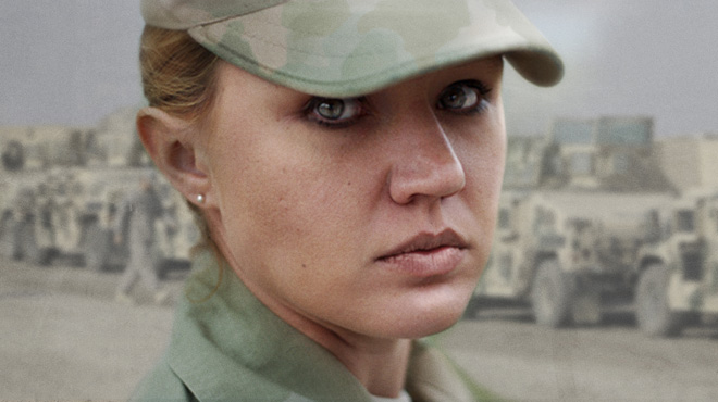 Still from <i>The Invisible War</i>