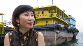 Amy Tan talks about the role Hong Kong played during the war when it became a port of exit for people fleeing China.