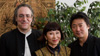 The operas creators, librettist Amy Tan, composer Stewart Wallace, and stage director Chen Shi-Zheng.