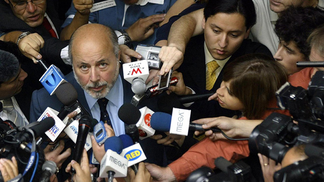 Judge Guzmán announces his decision, December 2004