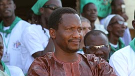 Peasants rights' activist Ibrahima Coulibaly