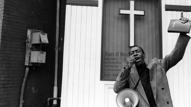 Brother Ceodtis Fulmore street preaching